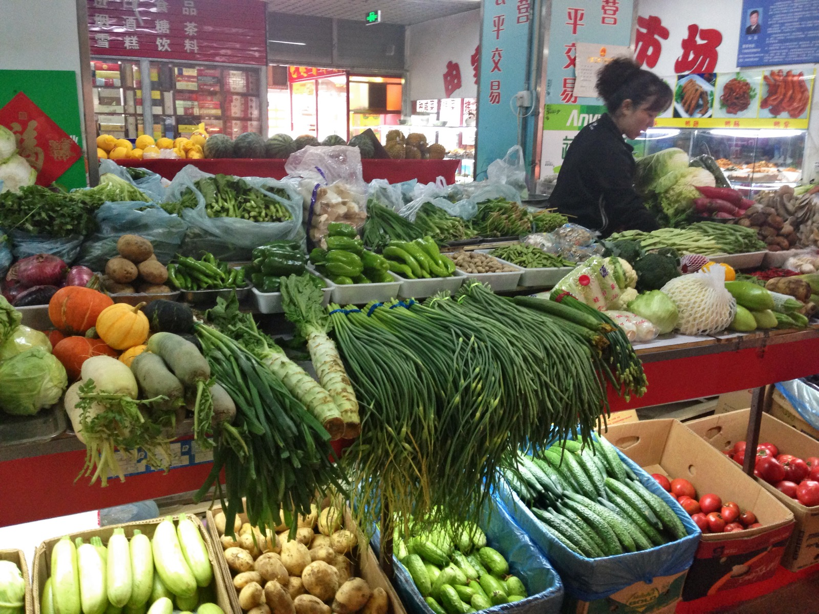Survey of dalian china food lightinchina for Outdoor food market